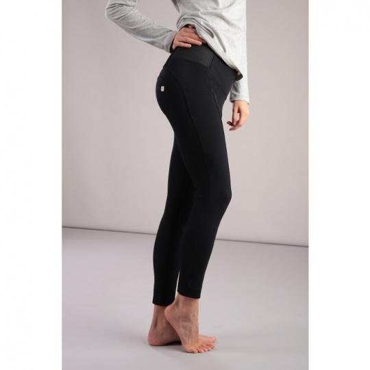 b00dd36a1c WR.UP® Fekete magas derekú elegáns nadrág | freddyhu.hu